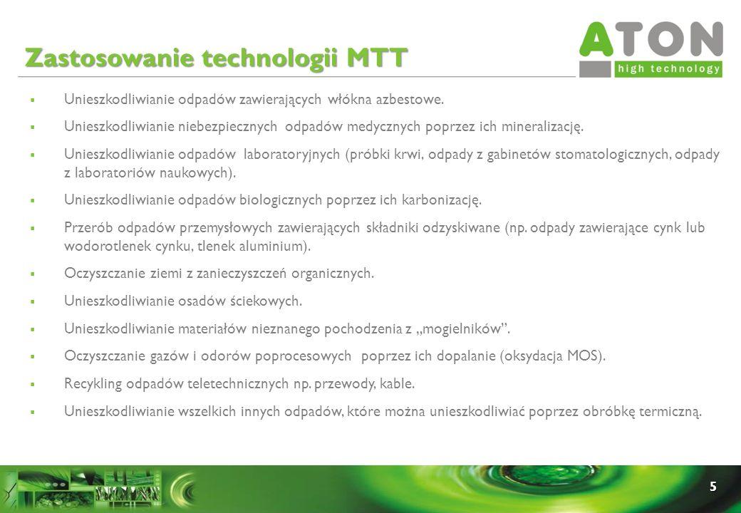 Zastosowanie technologii MTT