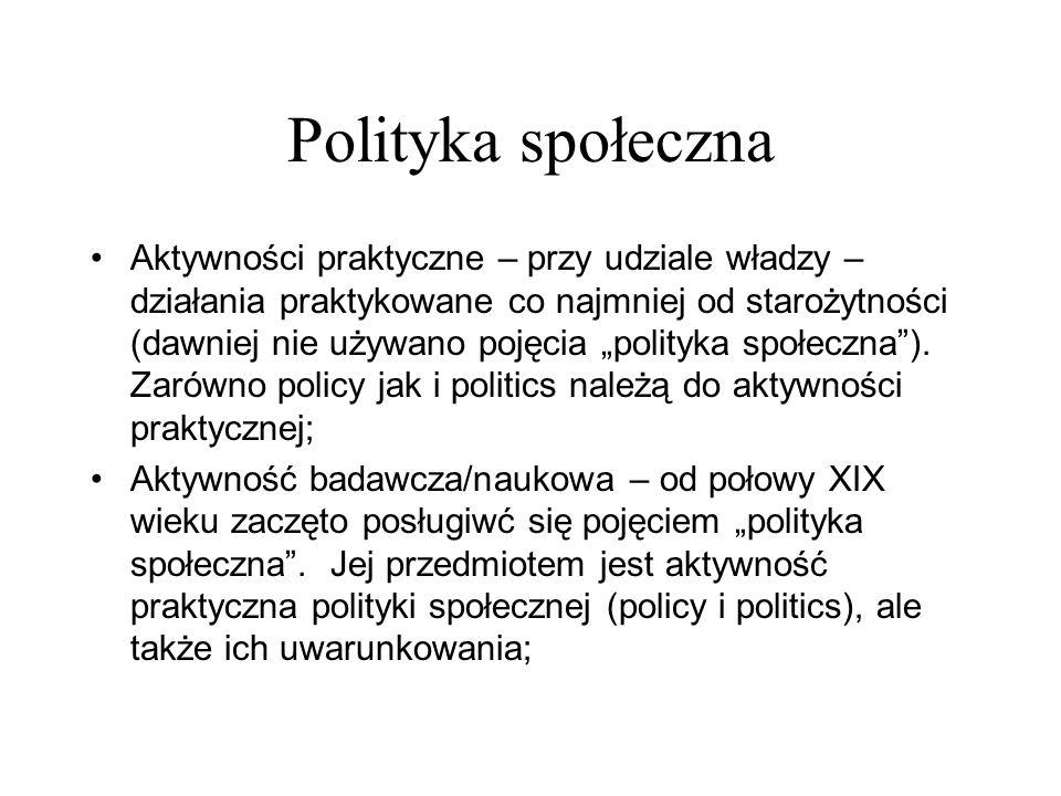 Polityka społeczna