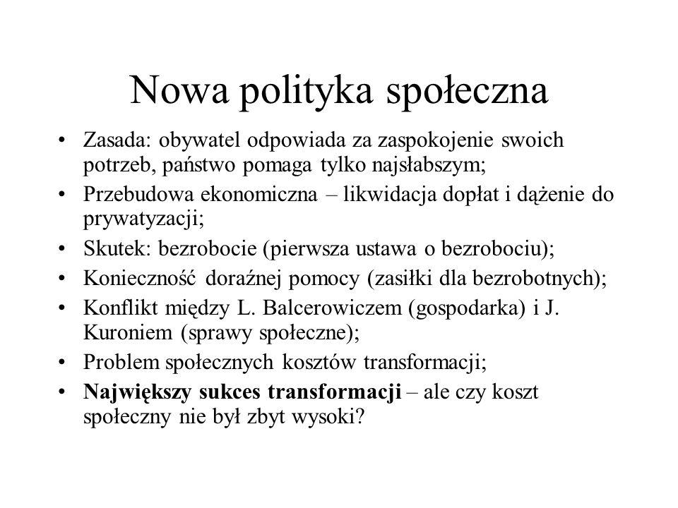 Nowa polityka społeczna