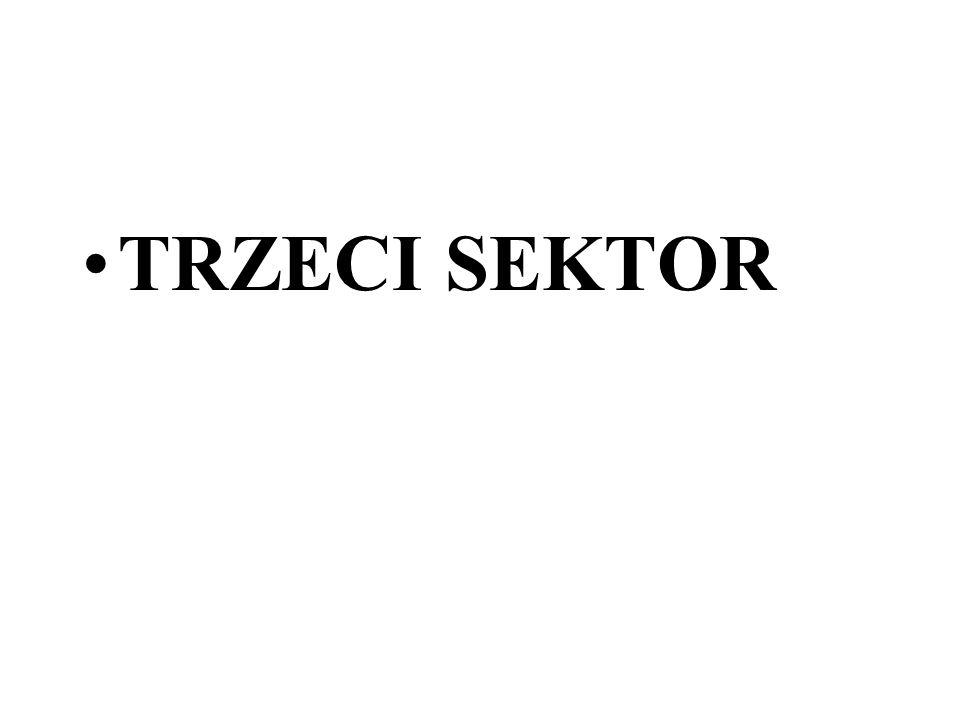 TRZECI SEKTOR