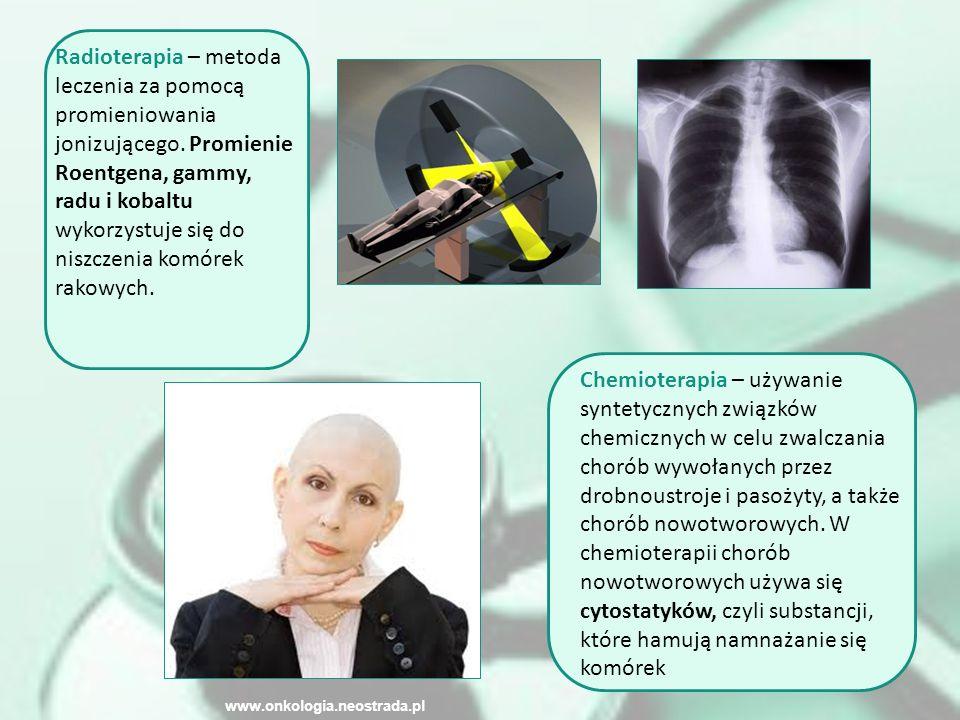 Radioterapia – metoda leczenia za pomocą promieniowania jonizującego