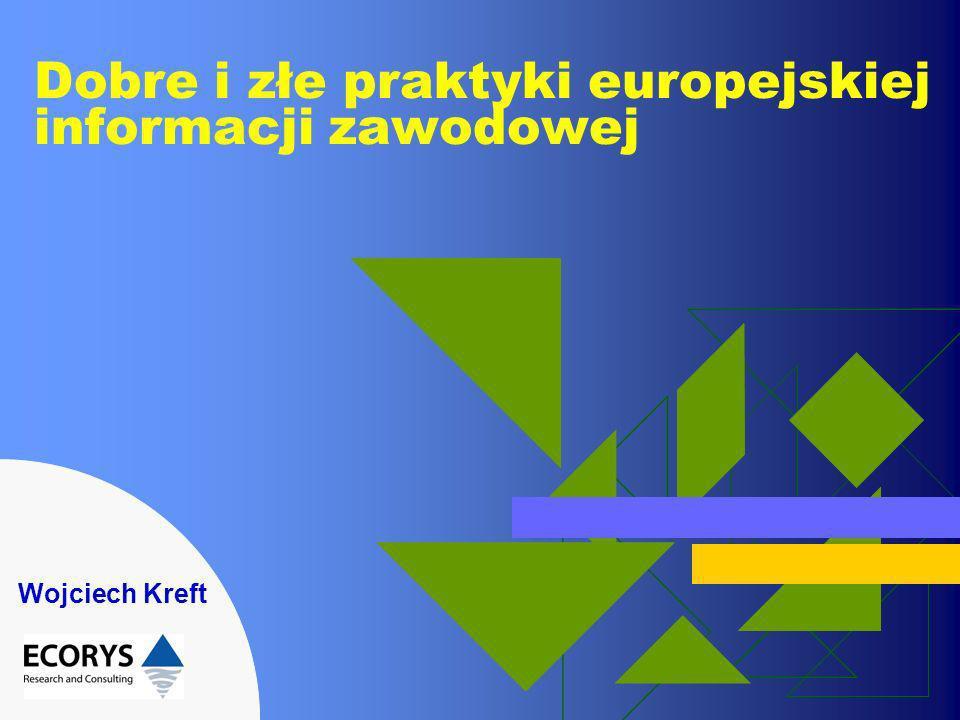 Dobre i złe praktyki europejskiej informacji zawodowej