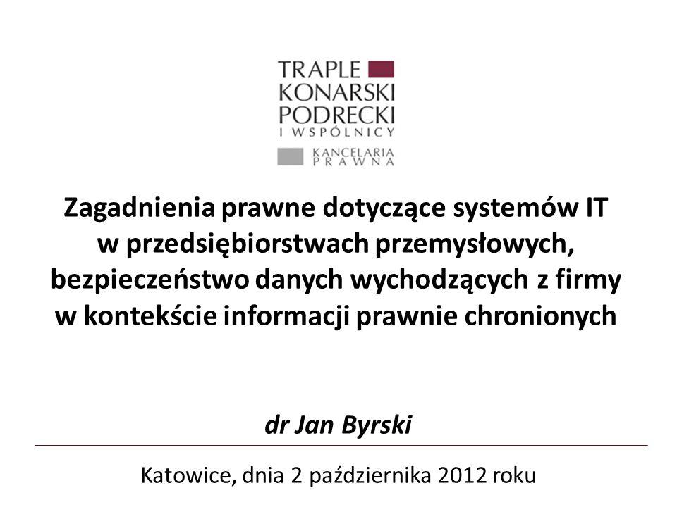 Katowice, dnia 2 października 2012 roku