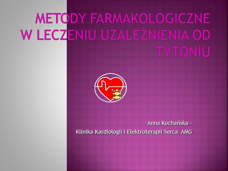 Metody farmakologiczne w leczeniu uzależnienia od tytoniu