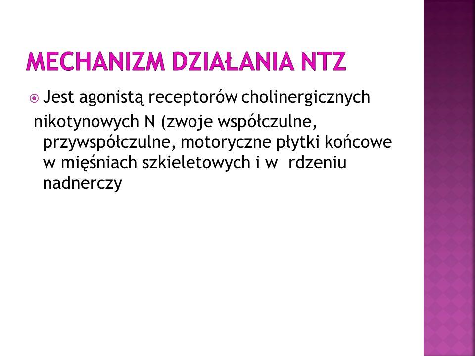 Mechanizm działania NTZ