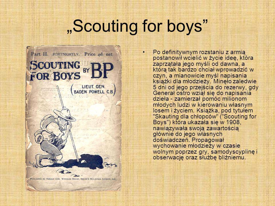 """Scouting for boys"