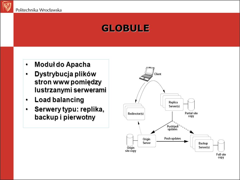 GLOBULE Moduł do Apacha