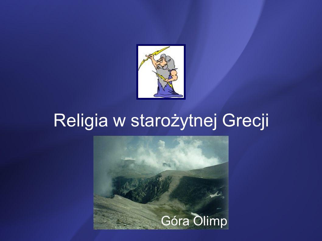 Religia w starożytnej Grecji