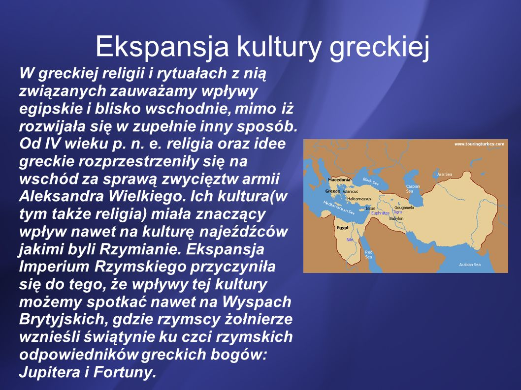 Ekspansja kultury greckiej