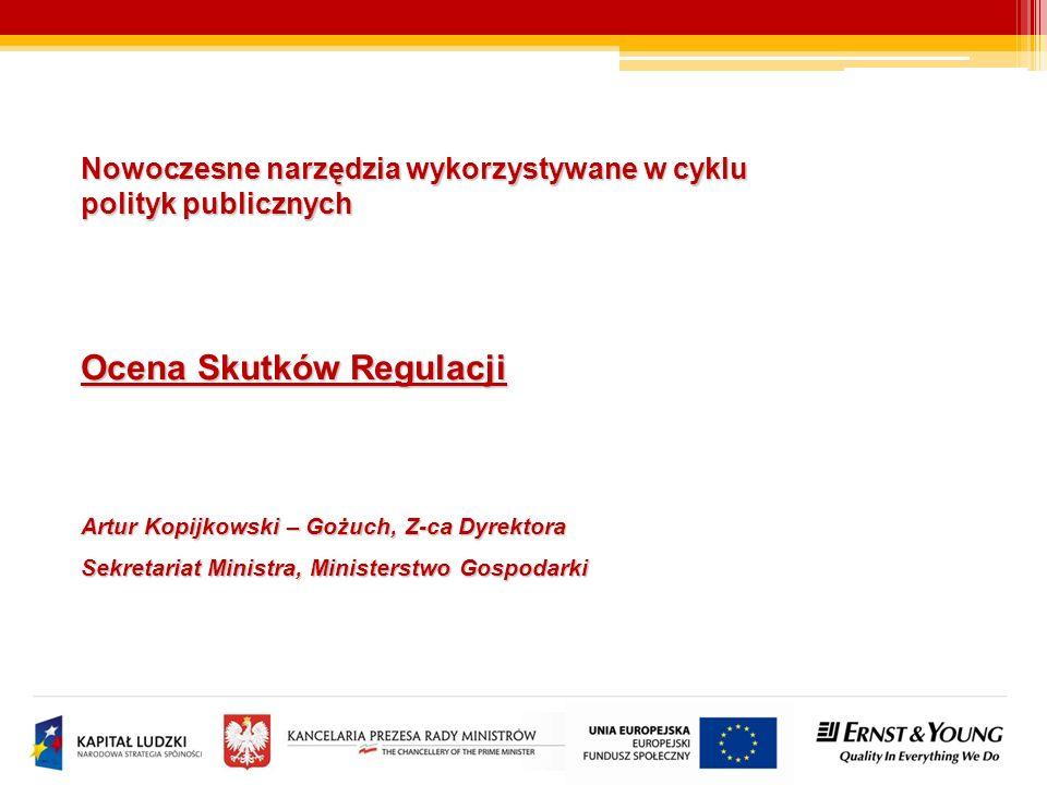 Ocena Skutków Regulacji