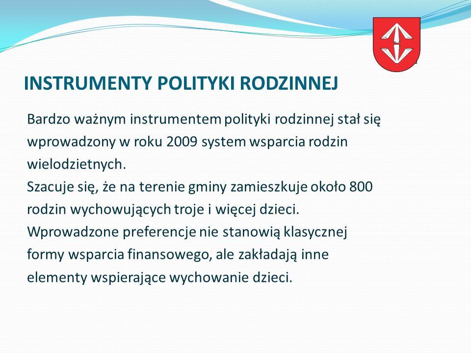 INSTRUMENTY POLITYKI RODZINNEJ