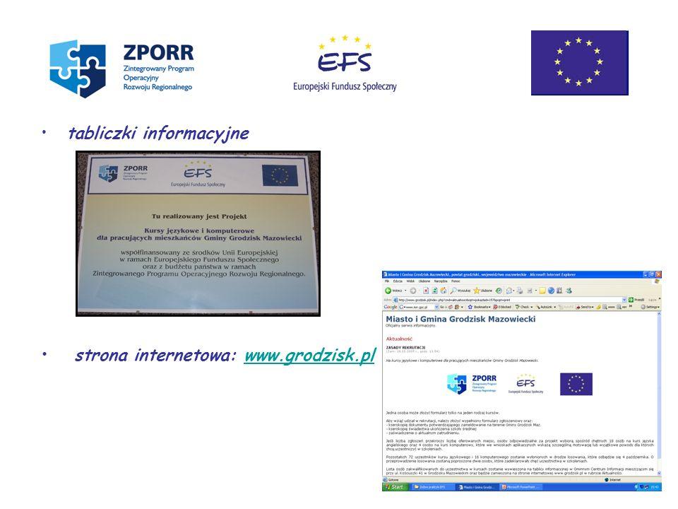 strona internetowa: www.grodzisk.pl