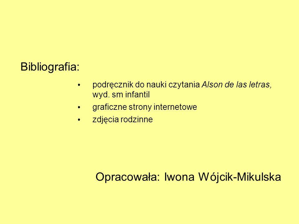 Opracowała: Iwona Wójcik-Mikulska