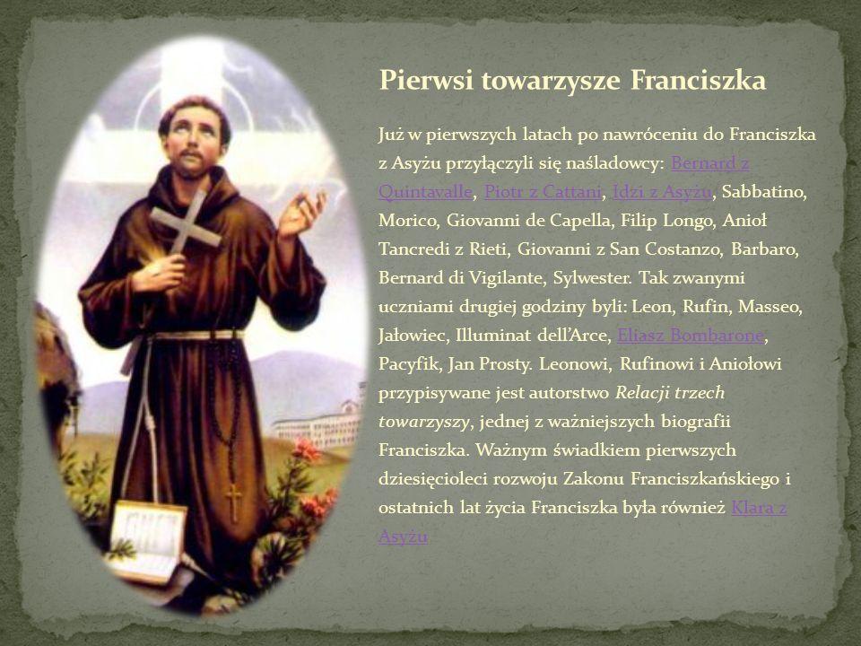 Pierwsi towarzysze Franciszka