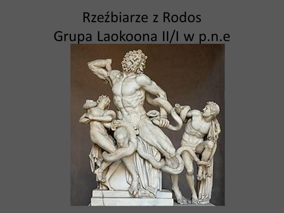 Rzeźbiarze z Rodos Grupa Laokoona II/I w p.n.e