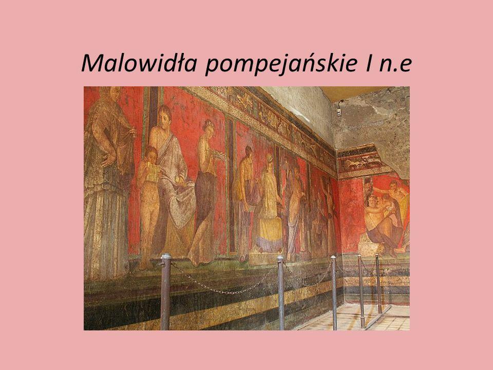 Malowidła pompejańskie I n.e