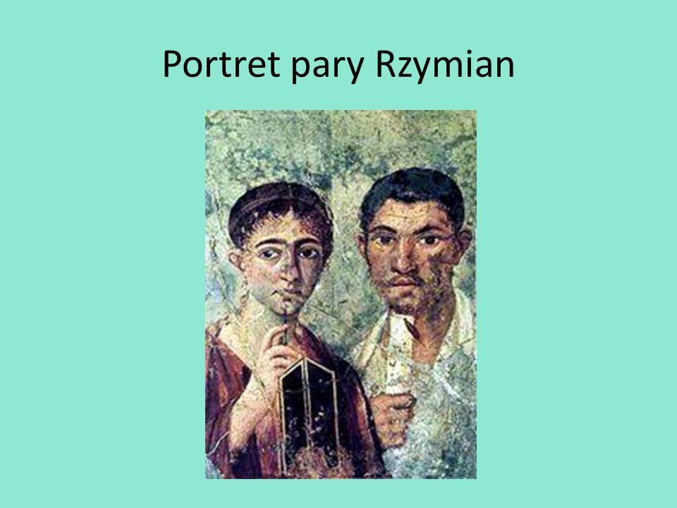 Portret pary Rzymian