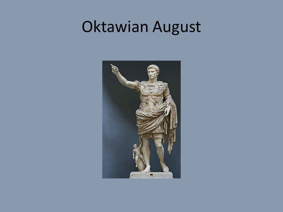 Oktawian August