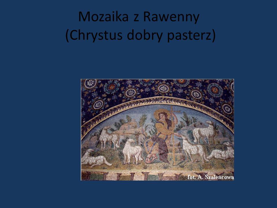 Mozaika z Rawenny (Chrystus dobry pasterz)