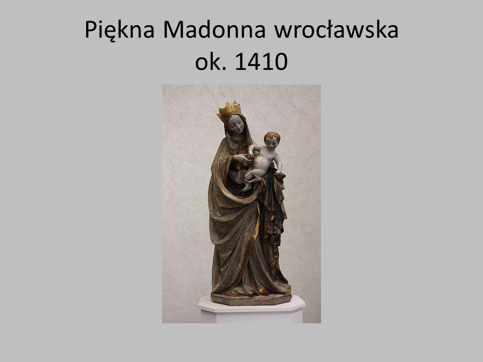 Piękna Madonna wrocławska ok. 1410