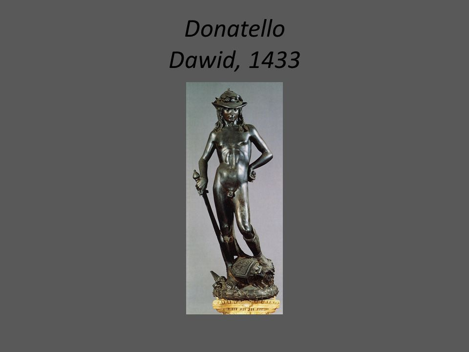 Donatello Dawid, 1433