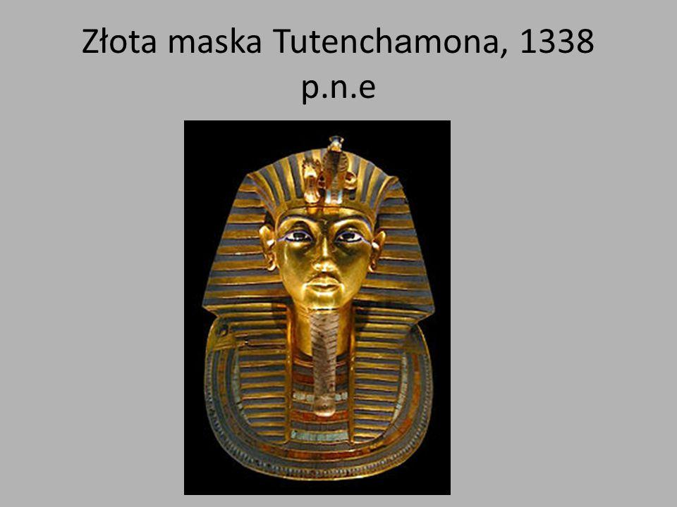 Złota maska Tutenchamona, 1338 p.n.e