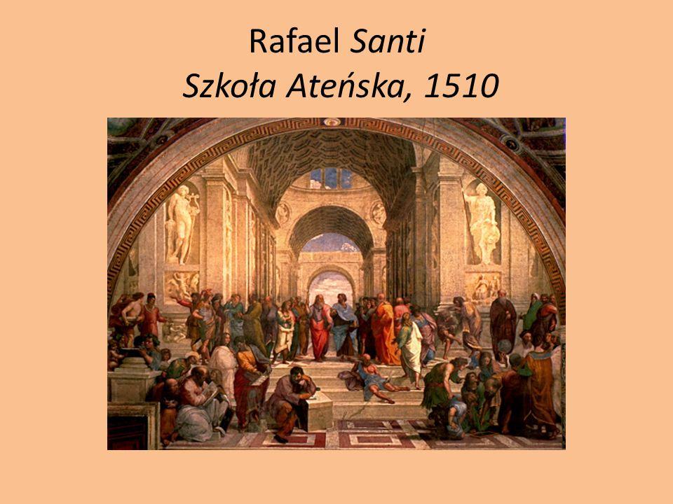 Rafael Santi Szkoła Ateńska, 1510