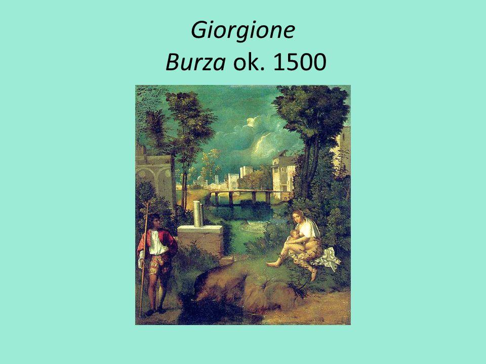 Giorgione Burza ok. 1500