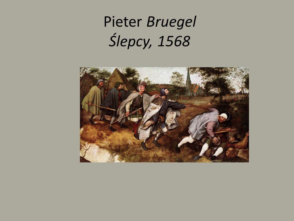 Pieter Bruegel Ślepcy, 1568