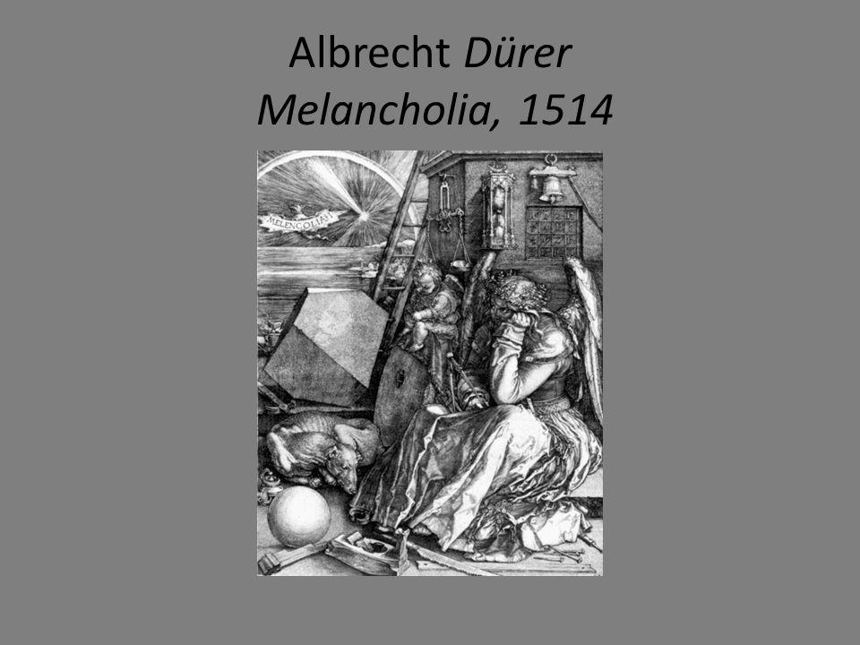 Albrecht Dürer Melancholia, 1514