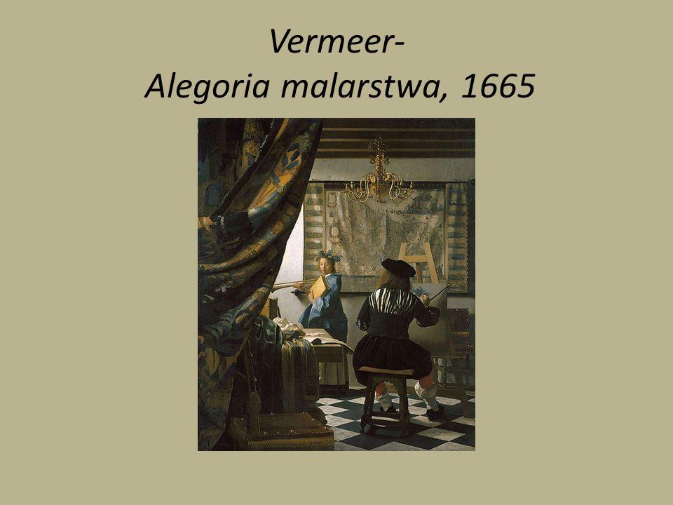 Vermeer- Alegoria malarstwa, 1665