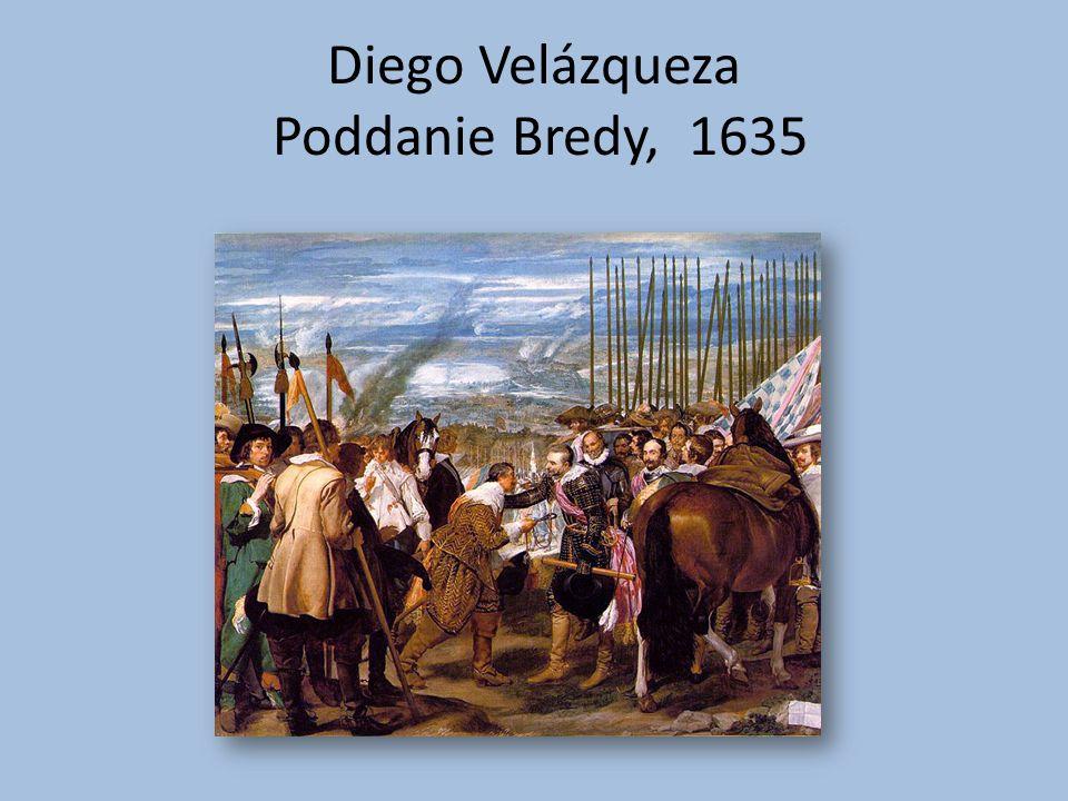 Diego Velázqueza Poddanie Bredy, 1635