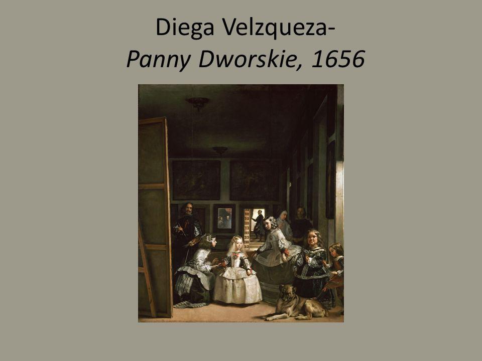 Diega Velzqueza- Panny Dworskie, 1656