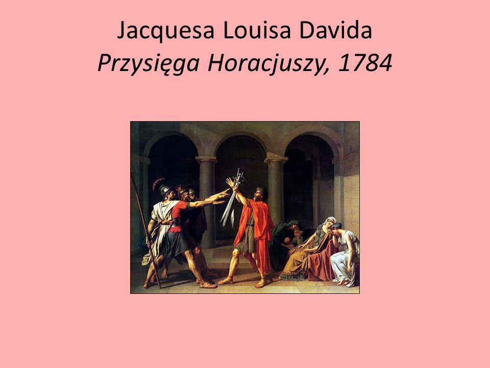 Jacquesa Louisa Davida Przysięga Horacjuszy, 1784
