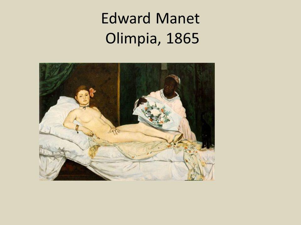 Edward Manet Olimpia, 1865