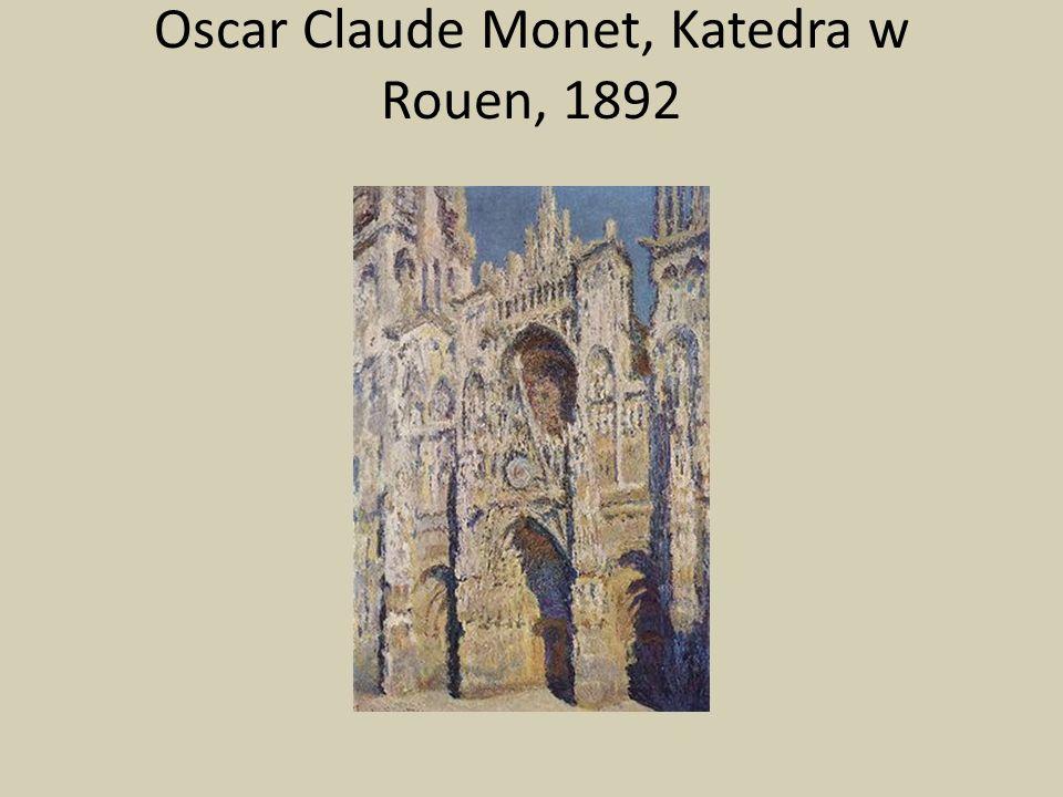 Oscar Claude Monet, Katedra w Rouen, 1892