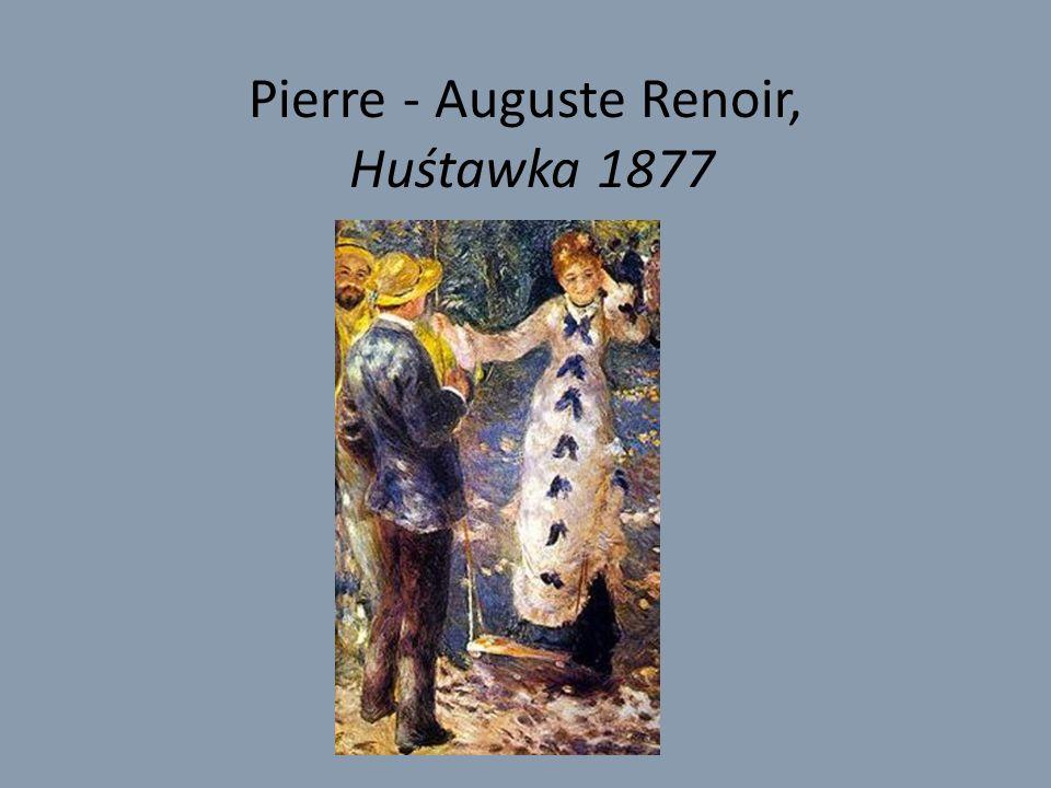 Pierre - Auguste Renoir, Huśtawka 1877