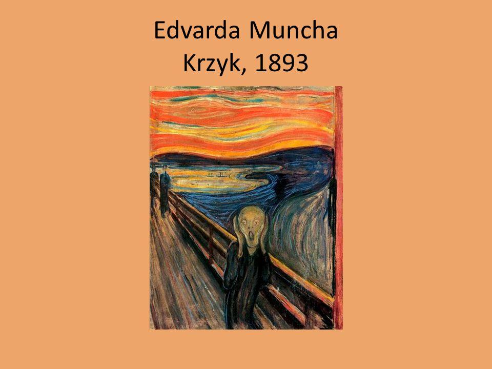 Edvarda Muncha Krzyk, 1893