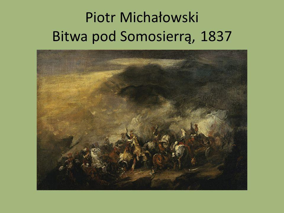 Piotr Michałowski Bitwa pod Somosierrą, 1837