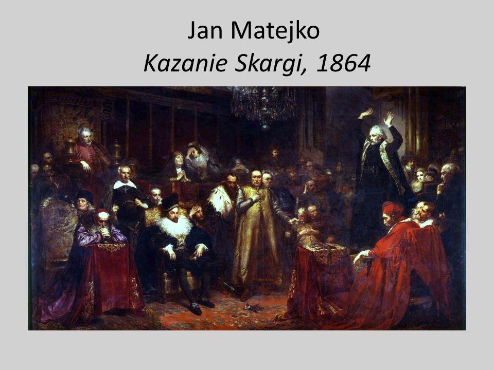 Jan Matejko Kazanie Skargi, 1864