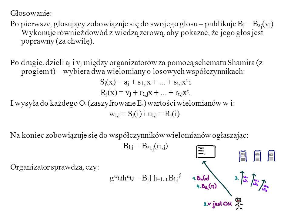 Sj(x) = aj + s1,jx + ... + st,jxt i Rj(x) = vj + r1,jx + ... + rt,jxt.