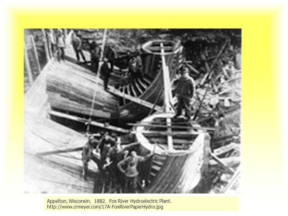 Pierwsza elektrownia wodna
