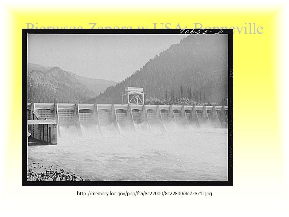 Pierwsza Zapora w USA: Bonneville Dam