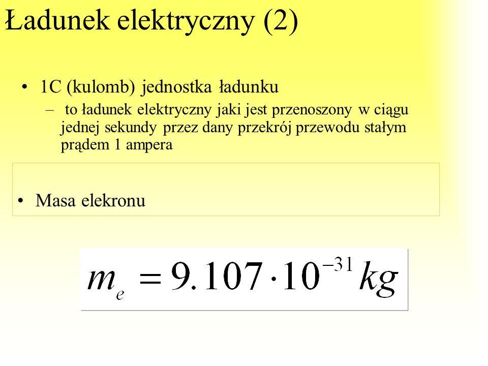 Ładunek elektryczny (2)