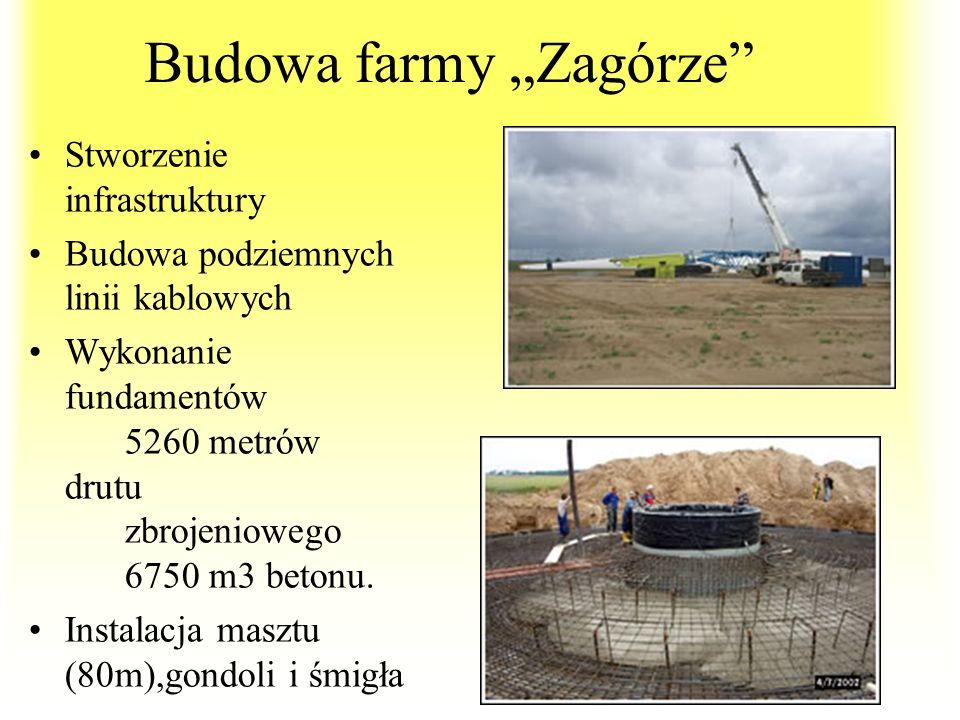 """Budowa farmy """"Zagórze"""