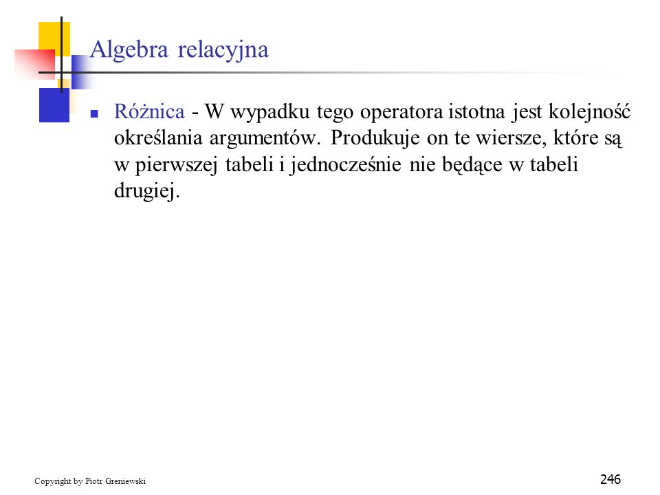 Algebra relacyjna