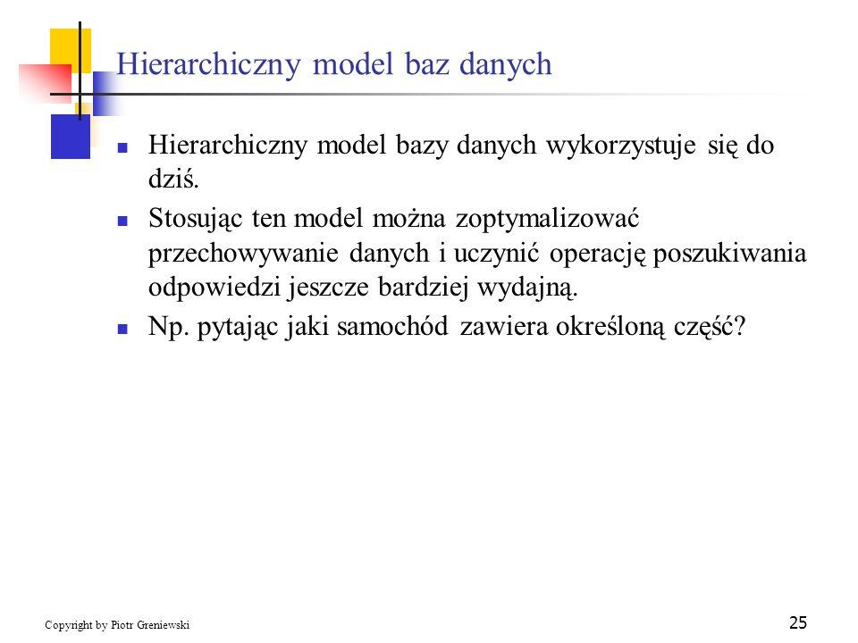 Hierarchiczny model baz danych