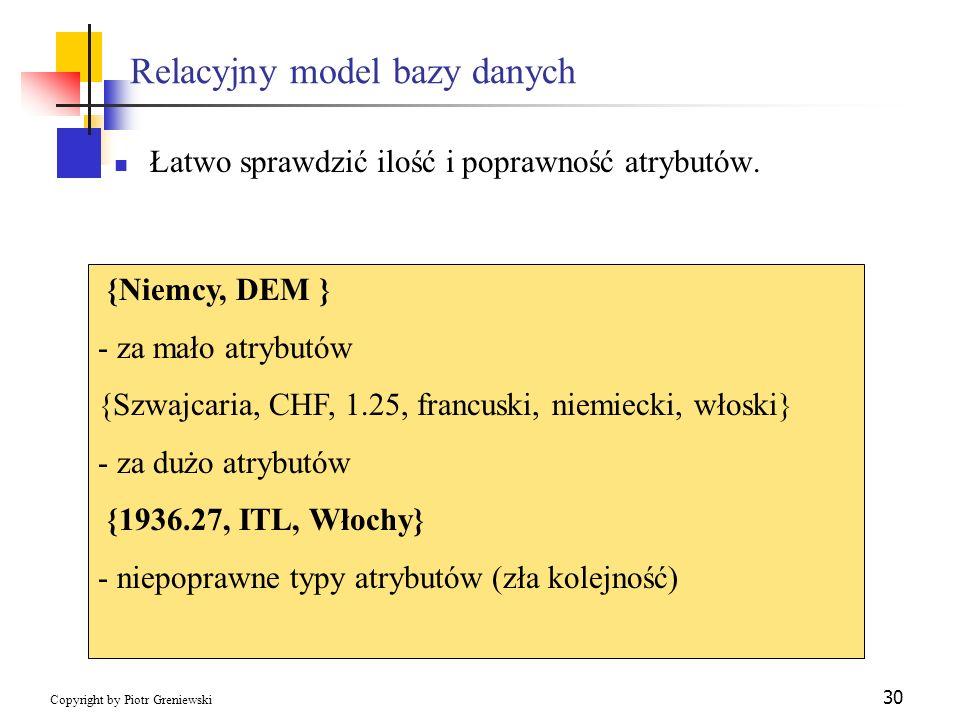 Relacyjny model bazy danych
