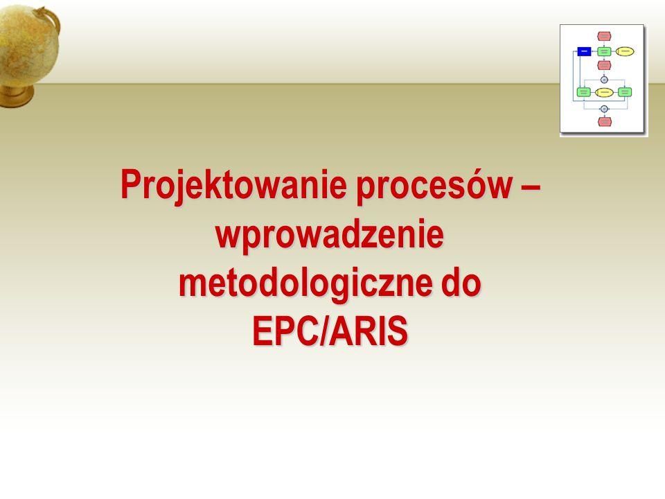 Projektowanie procesów – wprowadzenie metodologiczne do EPC/ARIS