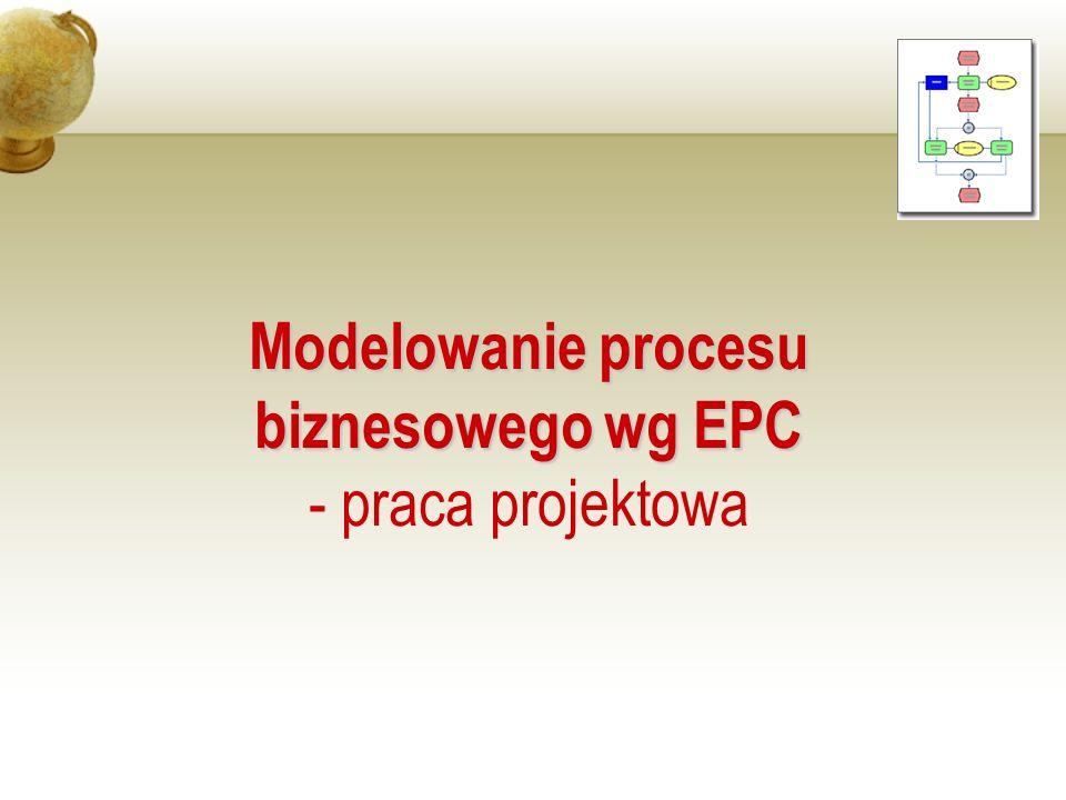 Modelowanie procesu biznesowego wg EPC